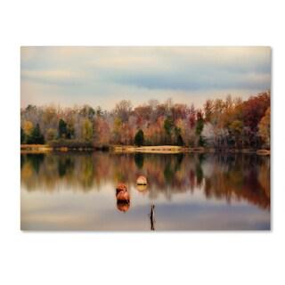 Jai Johnson 'Autumn At Lake LaJoie 3' Canvas Art