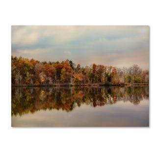 Jai Johnson 'Autumn At Lake LaJoie 2' Canvas Art