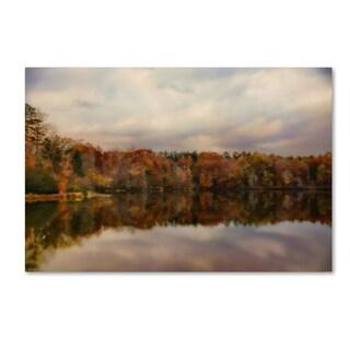 Jai Johnson 'Autumn At Lake LaJoie 1' Canvas Art