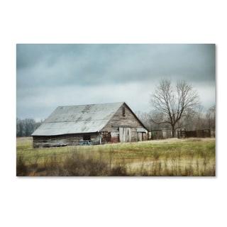 Jai Johnson 'An Old Gray Barn' Canvas Art