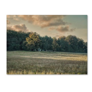 Jai Johnson 'The Old Farm At Sunrise' Canvas Art