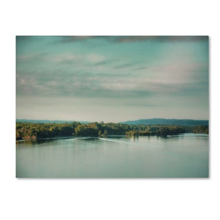 Jai Johnson 'Sunrise On The River' Canvas Art