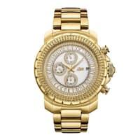 JBW Men's J6347A Titus 0.12 Carat Total Weight 18k Goldplated Stainless-steel Diamond Watch - GOLD