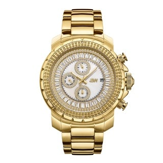 JBW Men's Titus.12 Carat Total Weight 18k Goldplated Stainless-steel Diamond Watch - GOLD