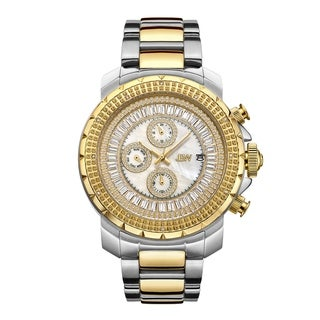 JBW Men's Titus Stainless Steel 0.12ct Diamond Watch - Two-Tone