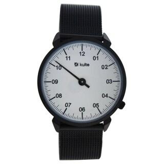 Kulte KU15-0018 Black Stainless Steel Unisex Mesh Bracelet Watch