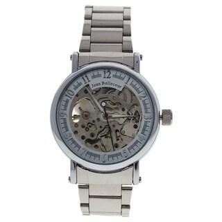 Jean Bellecour REDH1 Silver Stainless Steel Men's Bracelet Watch