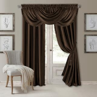 Elrene Versailles Waterfall Window Valance More Options Available
