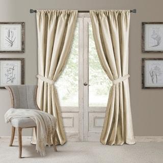 Elrene Versailles Pleated Room-darkening Curtain Panel