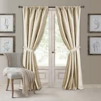 Elrene Versailles Pleated Room Darkening Curtain Panel