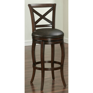 Shop Hadleigh Sienna Counter Height Stool Free Shipping