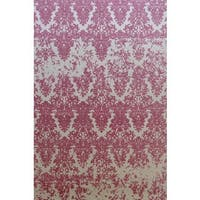 Dynamic Rugs Borgia Blush Wool Area Rug (8' x 11') - 8' x 11'