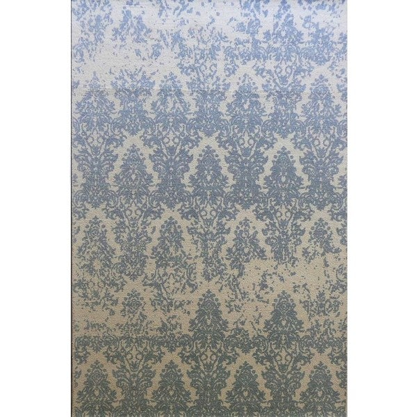 Dynamic Rugs Borgia Grey Wool Area Rug 8 X27 X