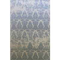 Dynamic Rugs Borgia Grey Wool Area Rug - 8' x 11'