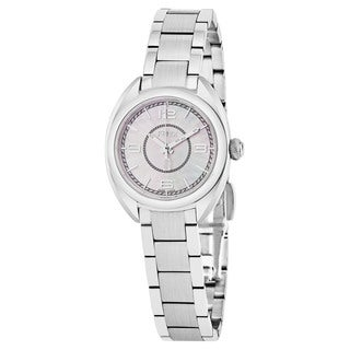 Fendi Women's F218024500 'Momento' Mother of Pearl Dial Stainless Steel Swiss Quartz Watch