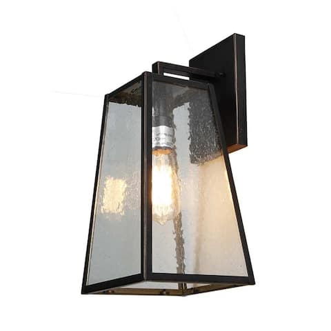AA Warehousing 1 Light Outdoor Wall Mounted light in Oil Rubbed Bronze