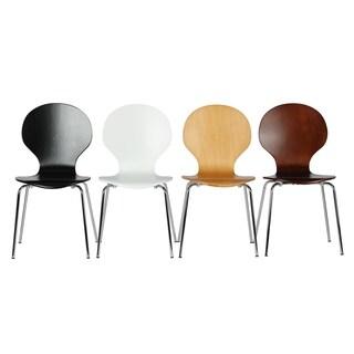 Novogratz Bentwood Shell Dining Chair (Set of 2)
