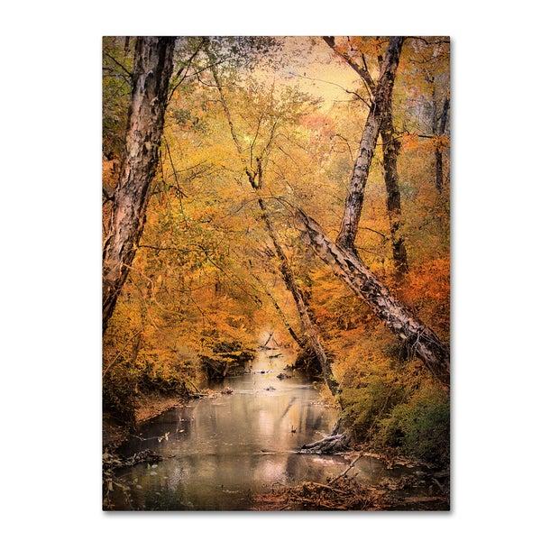 Jai Johnson 'Autumn Riches 1' Canvas Art