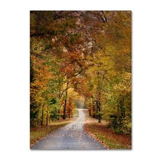 Jai Johnson 'Autumn Passage 4' Canvas Art