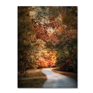 Jai Johnson 'Autumn Passage 1' Canvas Art