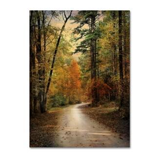 Jai Johnson 'Autumn Forest 4' Canvas Art