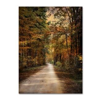 Jai Johnson 'Autumn Forest 3' Canvas Art