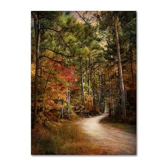 Jai Johnson 'Autumn Forest 2' Canvas Art
