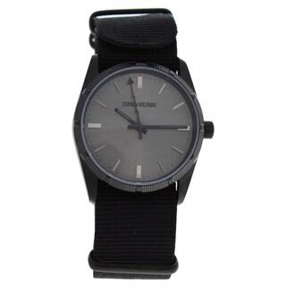 Zadig & Voltaire ZVF218 Fusion - Black Unisex Nylon Strap Watch