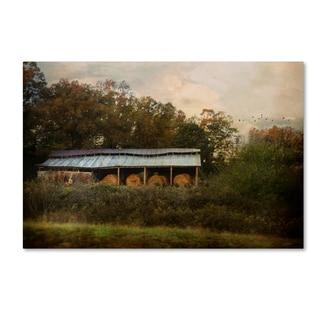 Jai Johnson 'A Barn For The Hay' Canvas Art