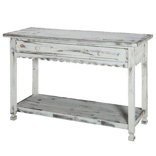 Country Cottage Reclaimed Wood Console Table
