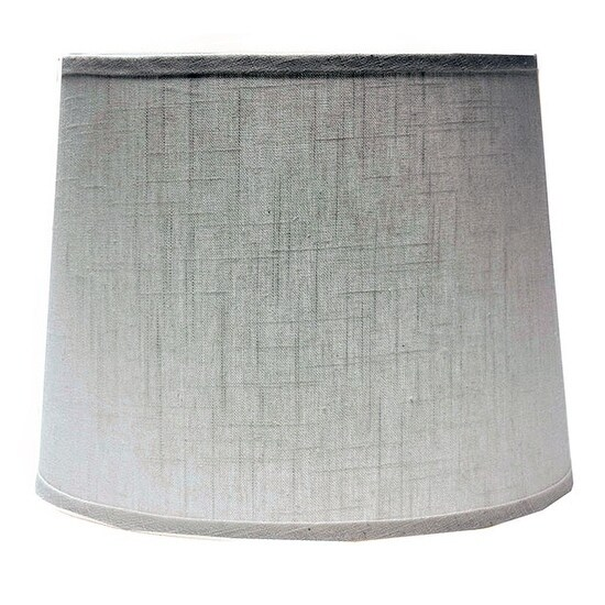 Somette White Linen Drum Lamp Shades (Set of 4)