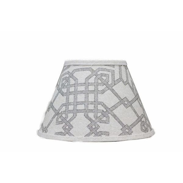Somette Arbor Stone Grey Empire Lamp Shades (Set of 4)