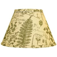 Somette Cedar Moss Woodlands 14 inch Empire Lamp Shade with Washer