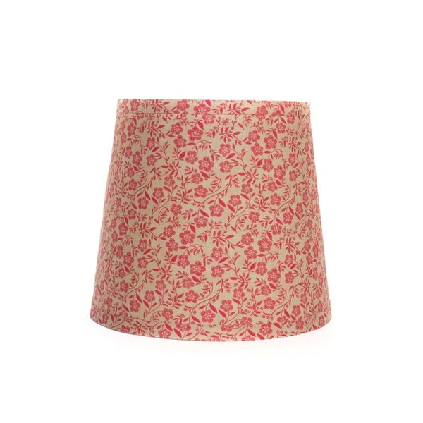 Somette Red Joy and Wonder Drum Lamp Shades (Set of 4)