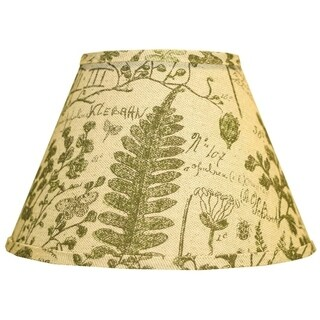 Somette Cedar Moss Woodlands 8 inch Empire Lamp Shade with Regular Clip