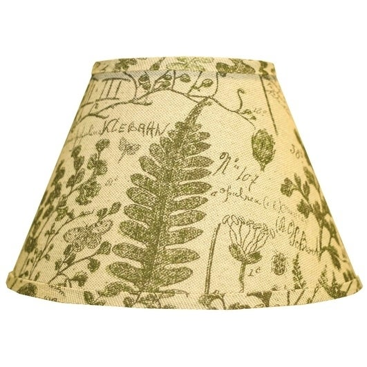 Somette Cedar Moss Woodlands 16 inch Empire Lamp Shade with Washer