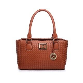 Christian LaCroix CXL Miriam Faux Leather Satchel Handbag