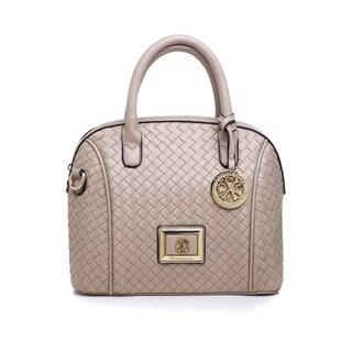 CLX by Christian LaCroix Miriam Faux-leather Dome Satchel Handbag