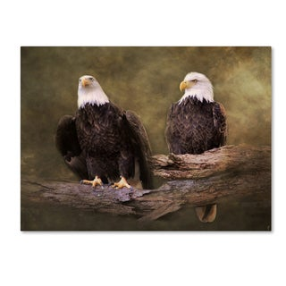 Jai Johnson 'Mates Bald Eagle Pair' Canvas Art