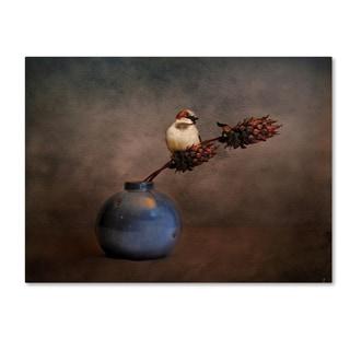 Jai Johnson 'Little Sparrow Friend' Canvas Art