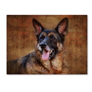Jai Johnson 'German Shepherd' Canvas Art