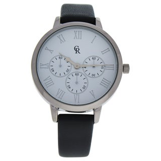 Charlotte Raffaelli CRB010 La Basic - Silver/Grey Women's Leather Strap Watch