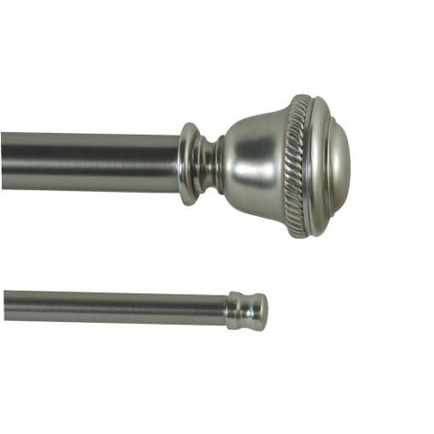 Chisolm Adjustable Double Curtain Rod