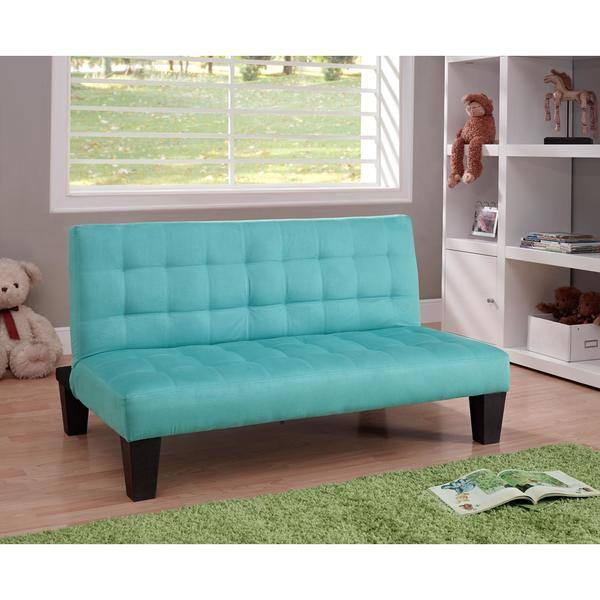 Astonishing Shop Dhp Ariana Teal Junior Futon Free Shipping Today Ibusinesslaw Wood Chair Design Ideas Ibusinesslaworg