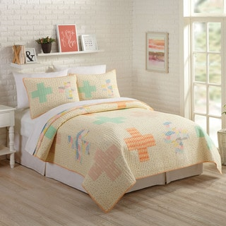Makers Collective Hillside Springs 3-piece Quilt Set