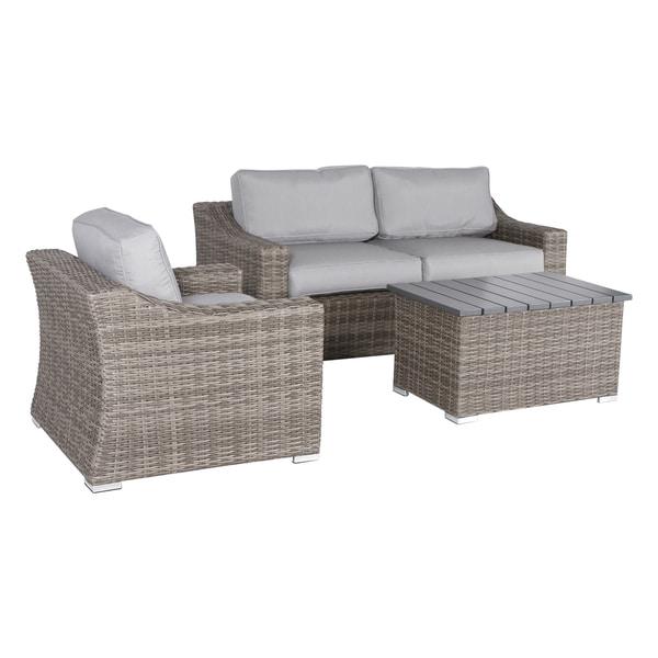 Marina Wicker 4-piece Lounge Set