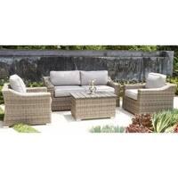 Marina Wicker 5-piece Lounge Set
