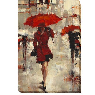 Artistic Home Gallery Lorraine Christie 'Paris Invitation' Gallery-wrapped Canvas Giclee Art