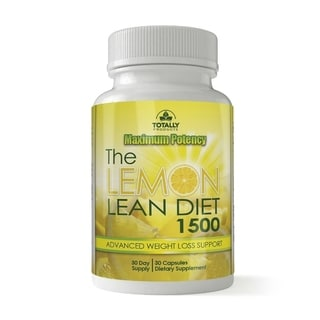 The Lemon Lean Diet 1500mg with Apple Cider and Cayenne Pepper (30 Capsules)
