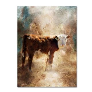 Jai Johnson 'Calf In The Sunday Sun' Canvas Art